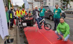 Pop-up-Bike-Lanes – gemeinsame Aktion der Verbände